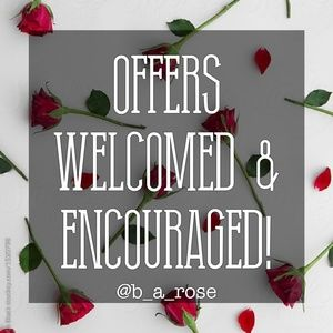 I ♡ OFFERS! AND COUNTER OFFERS! 😍